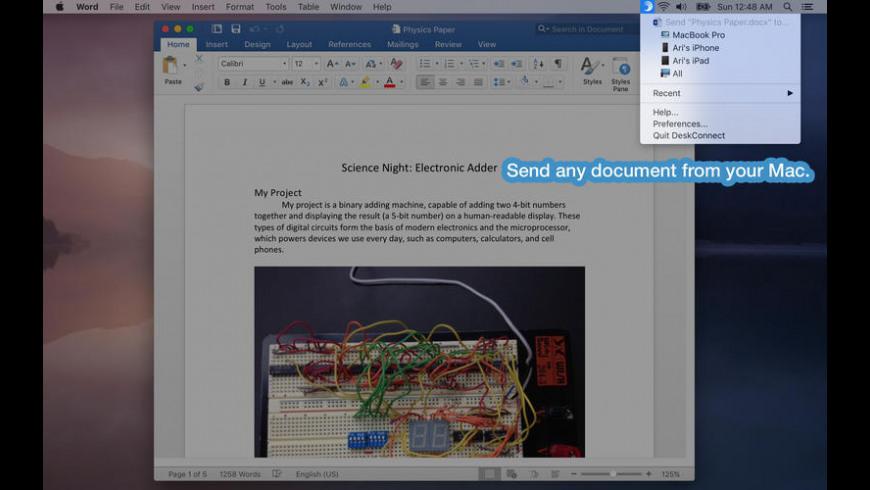 DeskConnect for Mac - review, screenshots