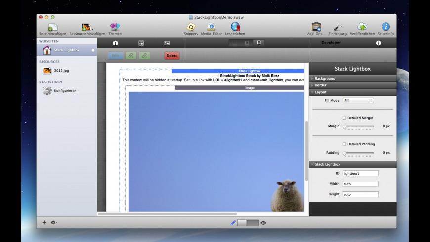 Stack Lightbox for Mac - review, screenshots