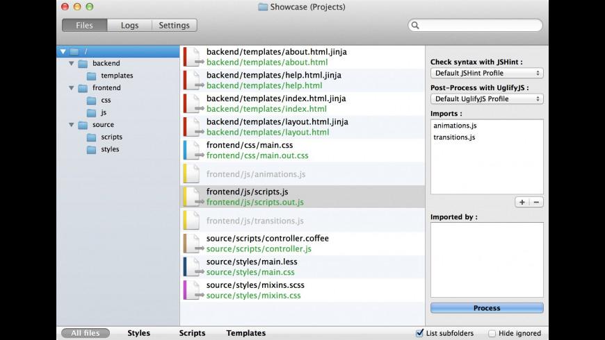 SiteFlow for Mac - review, screenshots