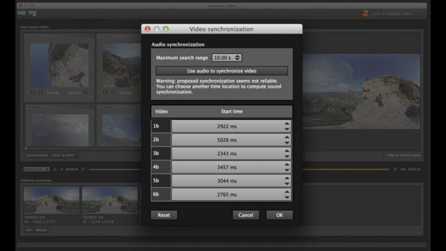 Autopano Video Pro for Mac - review, screenshots