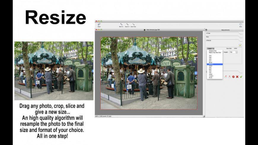 MagicCrop for Mac - review, screenshots