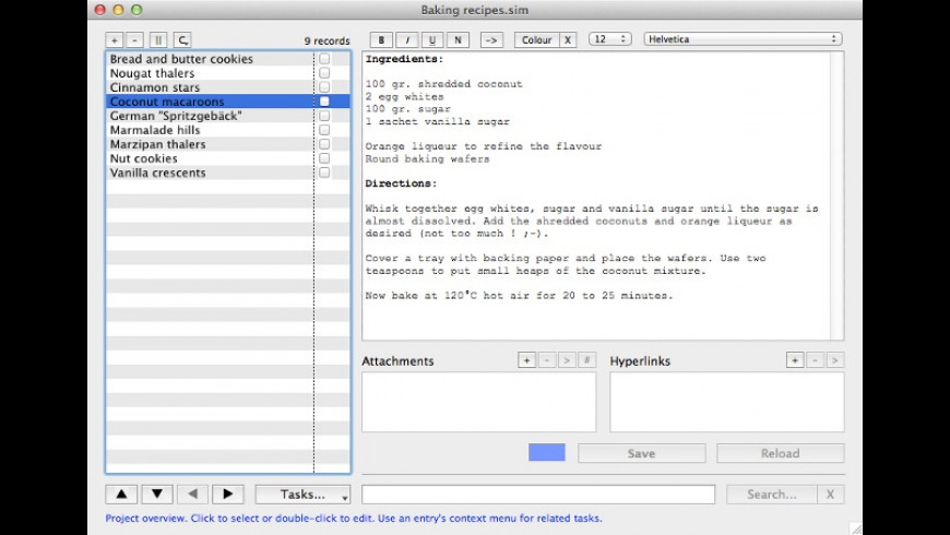 STAR Idea Manager for Mac - review, screenshots