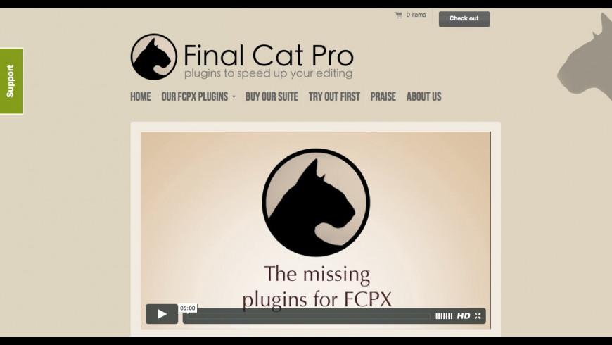 Final Cat Pro Services for Mac - review, screenshots