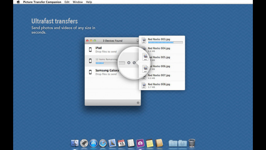 Picture Transfer Companion for Mac - review, screenshots