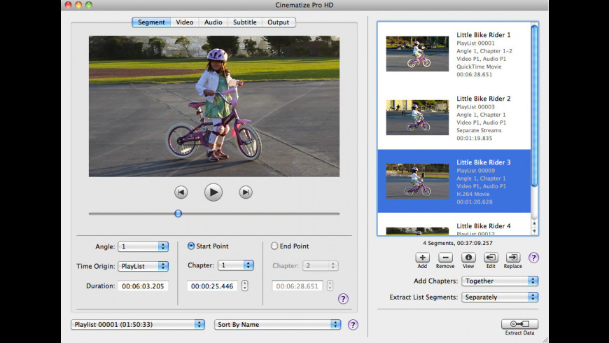 Cinematize Pro HD for Mac - review, screenshots