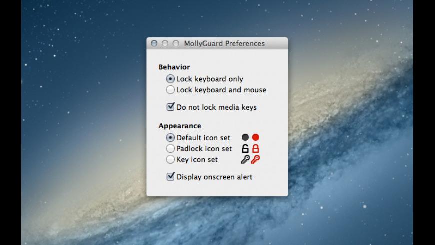 MollyGuard for Mac - review, screenshots