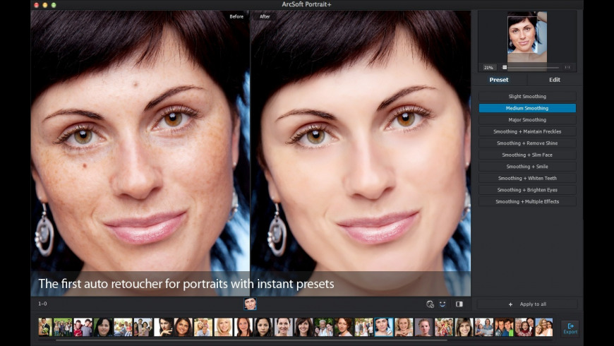 Portrait+ for Mac - review, screenshots