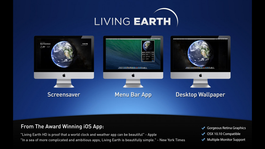 Living Earth 1 25 Free Download for Mac   MacUpdate
