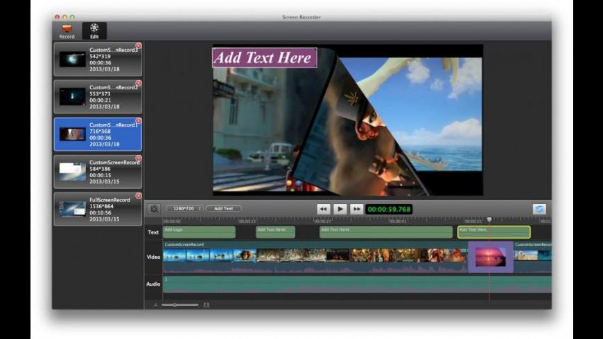 Record Studio Pro for Mac - review, screenshots