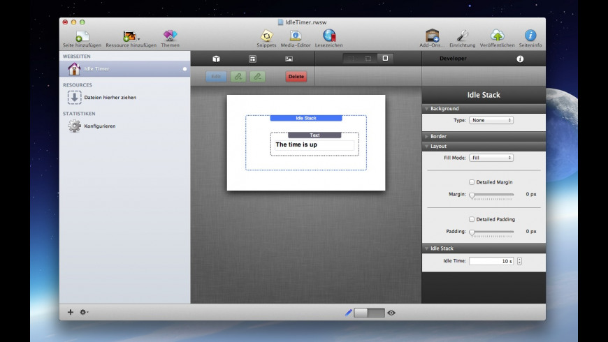 Idle Timer for Mac - review, screenshots