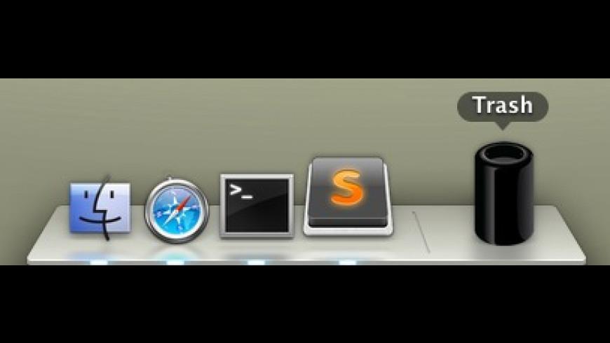 Mac Pro Trash Icon for Mac - review, screenshots