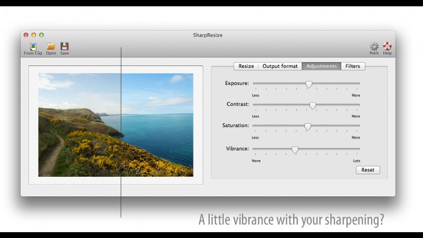 SharpResize for Mac - review, screenshots