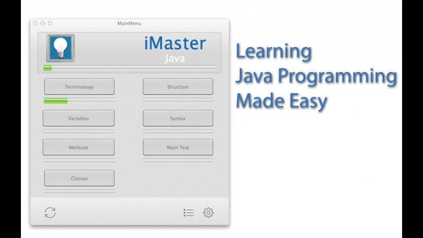 iMaster Java for Mac - review, screenshots