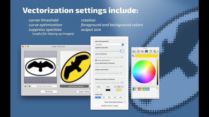 Image Vectorizer 1 6 Free Download for Mac | MacUpdate