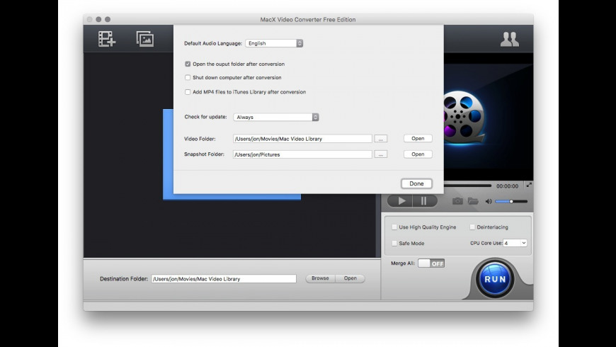 MacX Video Converter Free Edition 4 2 7 Free Download for