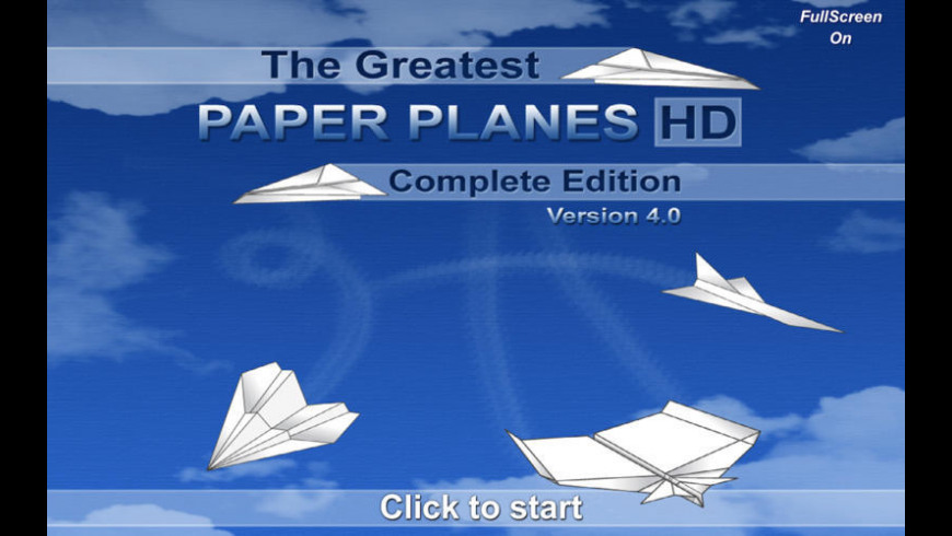 The Greatest Paper Planes for Mac - review, screenshots