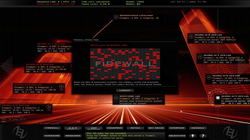 Hacker Evolution Duality for Mac - review, screenshots