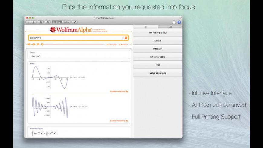 iPhi for Mac - review, screenshots