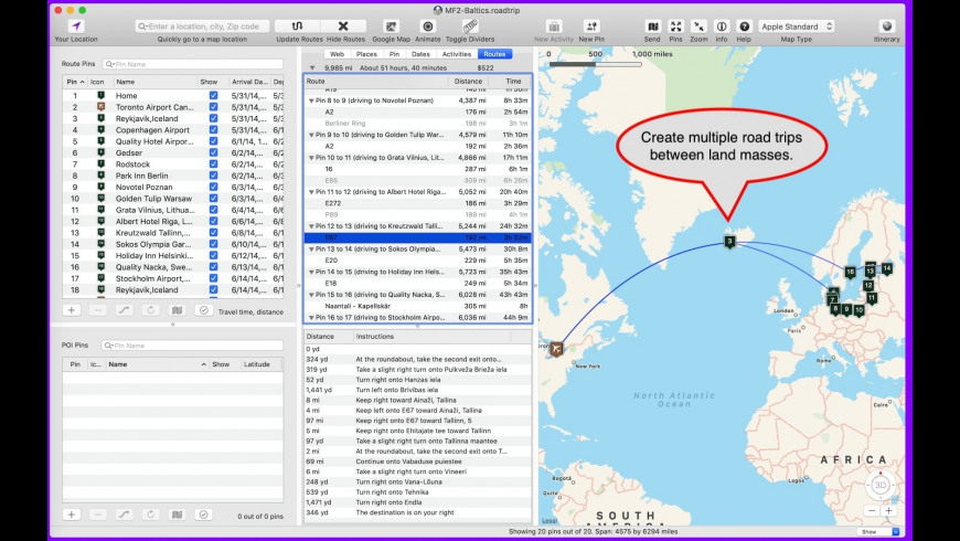 Road Trip Planner 4.5.981 Free Download for Mac  MacUpdate