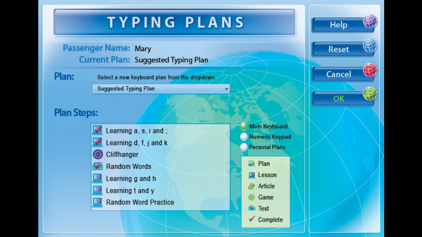 Typing Instructor Platinum for Mac - review, screenshots