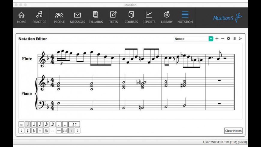 Musition for Mac - review, screenshots