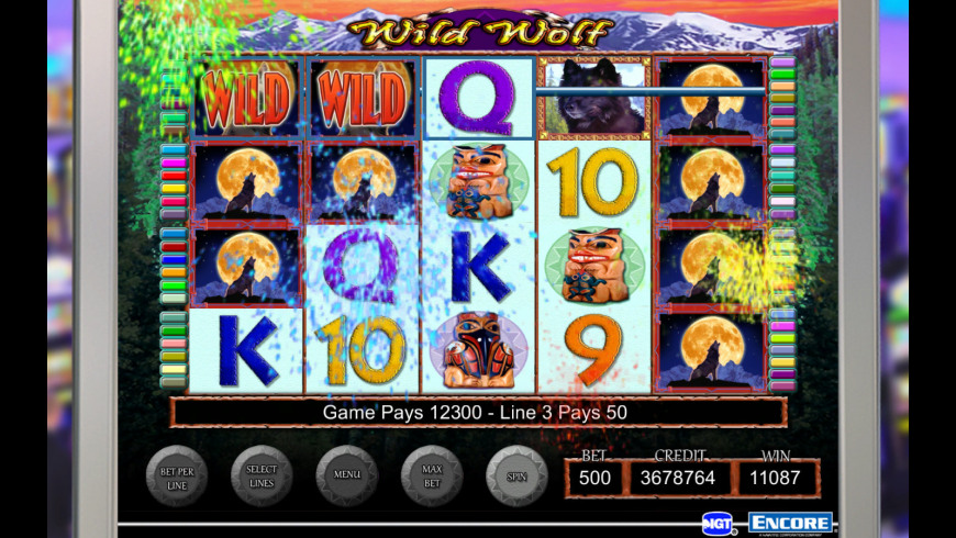 IGT Slots Wild Wolf for Mac - review, screenshots
