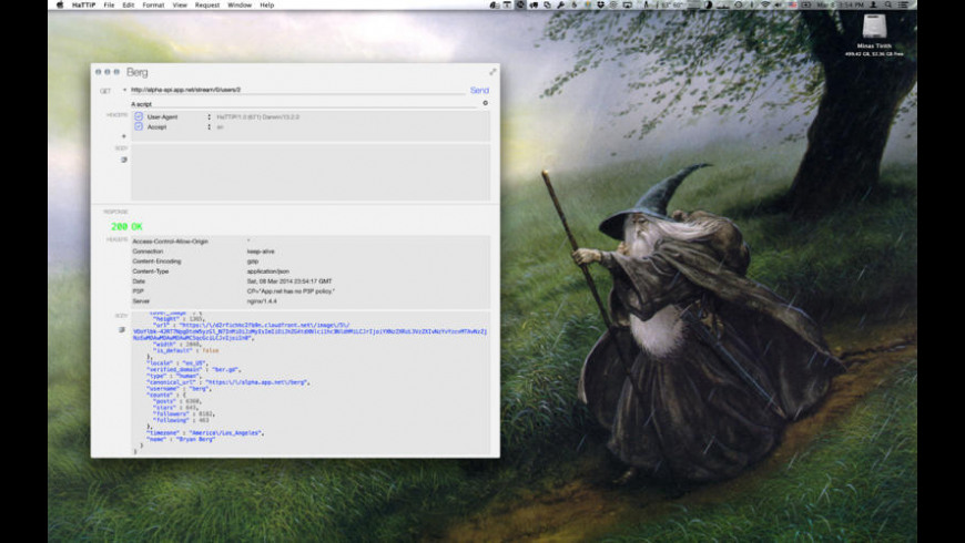 HaTTiP for Mac - review, screenshots