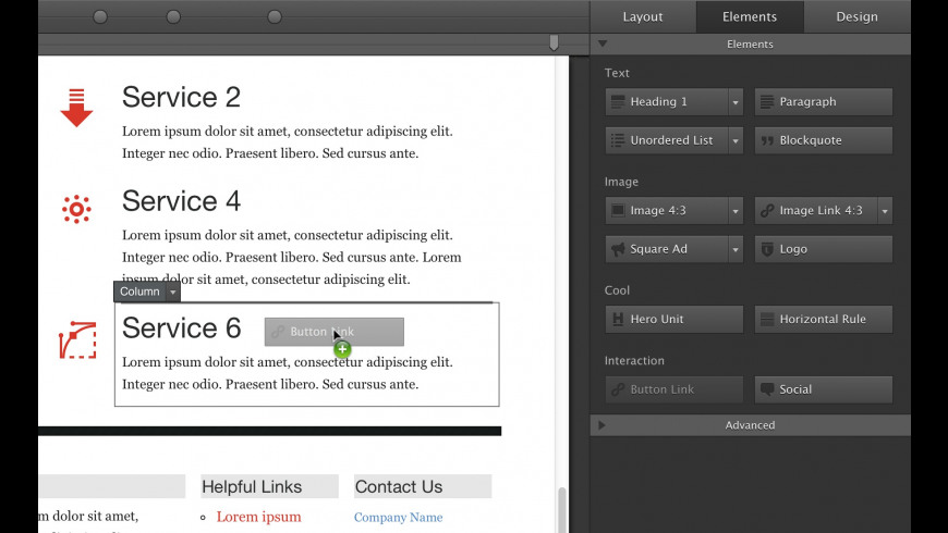 Responsive Layout Maker for Mac - review, screenshots