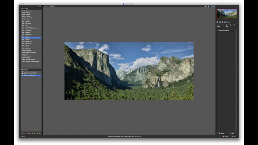 Topaz Lens Effects for Mac - review, screenshots