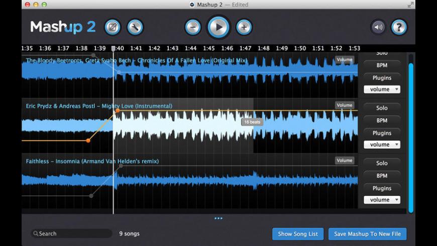 Mashup for Mac - review, screenshots