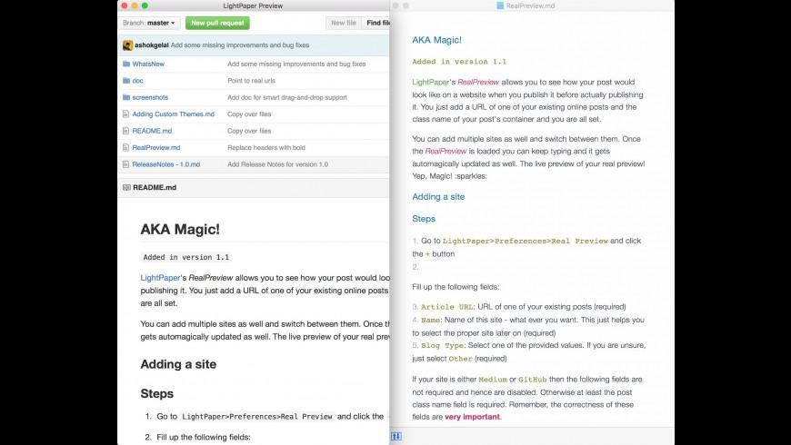 LightPaper for Mac - review, screenshots