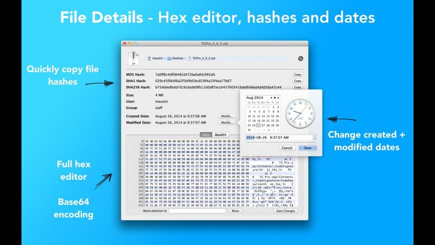 File Details for Mac - review, screenshots