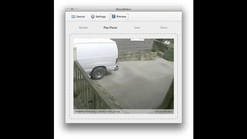 MovieMaker for Mac - review, screenshots