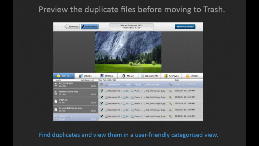 Duplicate File Cleaner for Mac - review, screenshots