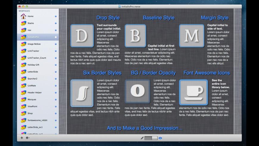 InitialisPro for Mac - review, screenshots