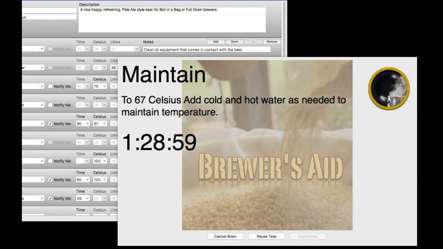 Brewer's Aid for Mac - review, screenshots