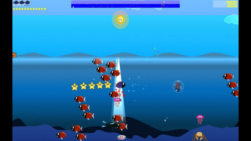 Tang's Starfish Rescue for Mac - review, screenshots
