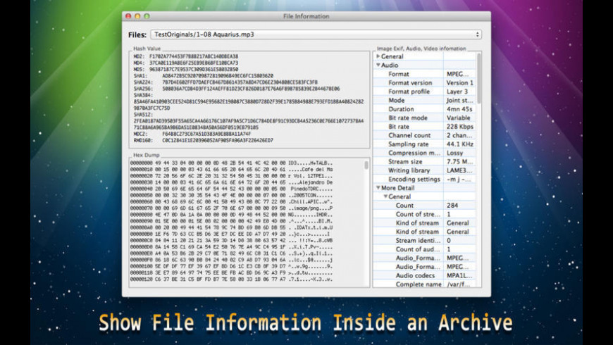 Archive Expert for Mac - review, screenshots