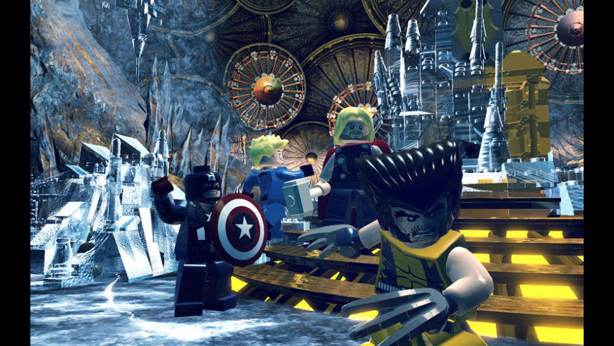 LEGO Marvel Super Heroes for Mac - review, screenshots
