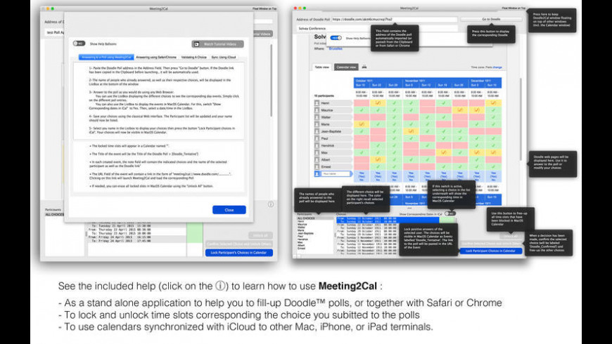 Meeting2Cal for Mac - review, screenshots
