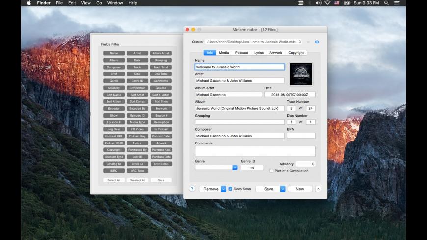 Metarminator for Mac - review, screenshots