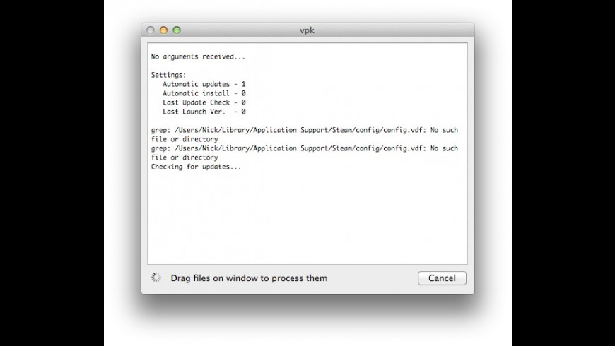 vpk for Mac - review, screenshots