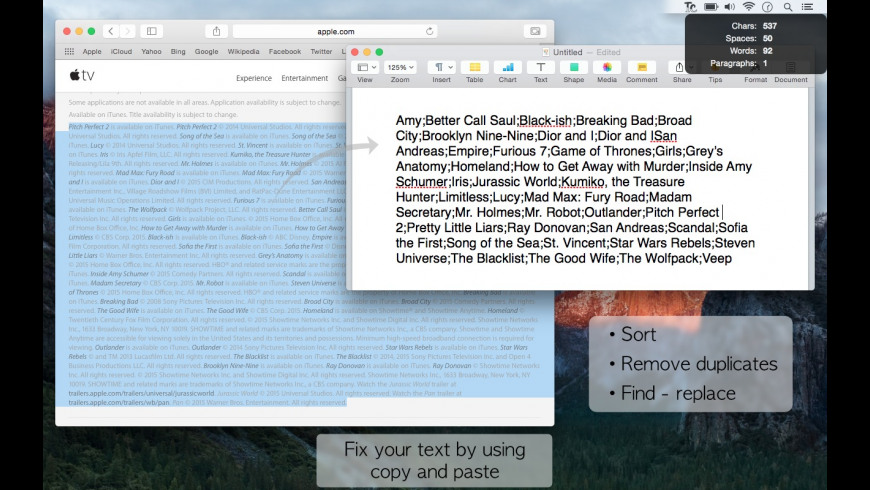 TCleaner Pro for Mac - review, screenshots