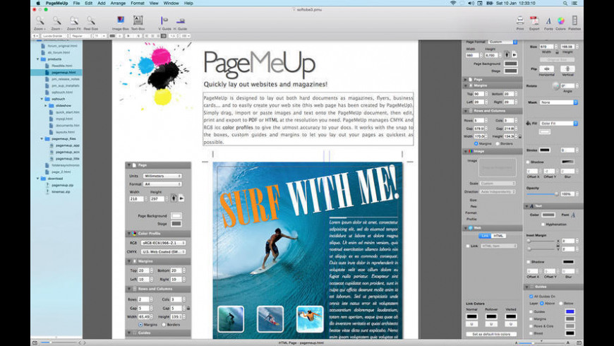 PageMeUp for Mac - review, screenshots