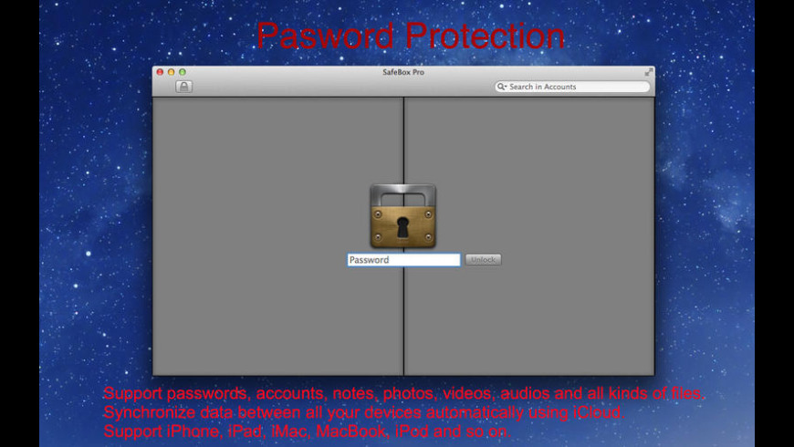 SafeBox Pro for Mac - review, screenshots