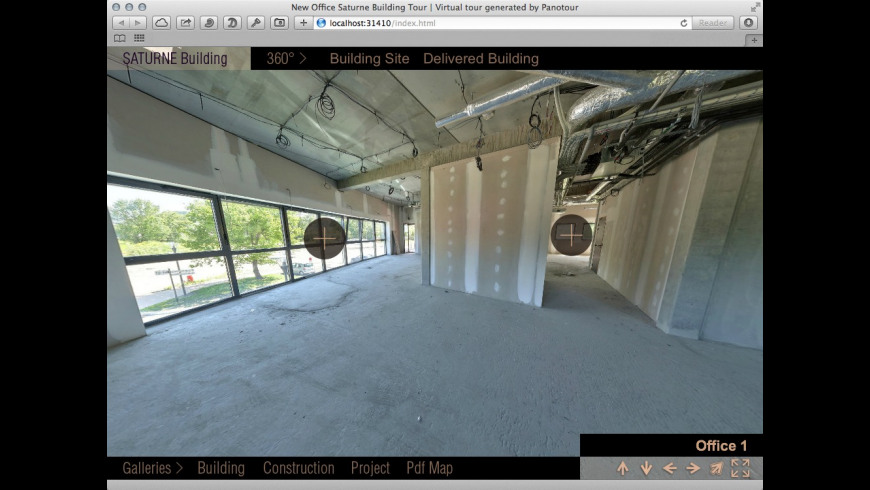 Panotour Viewer for Mac - review, screenshots