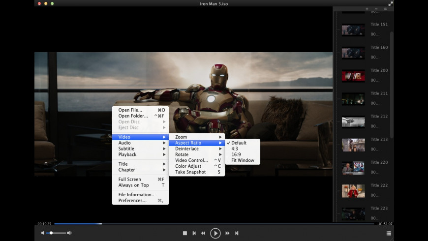 DVDFab Media Player for Mac - review, screenshots
