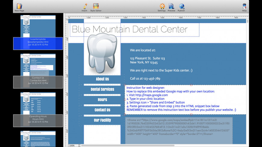 The Big Tooth for Mac - review, screenshots