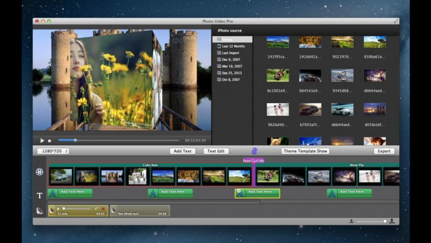 Photo Video Pro for Mac - review, screenshots