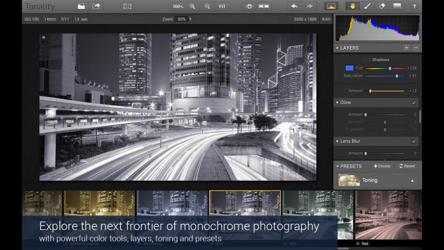 Tonality for Mac - review, screenshots